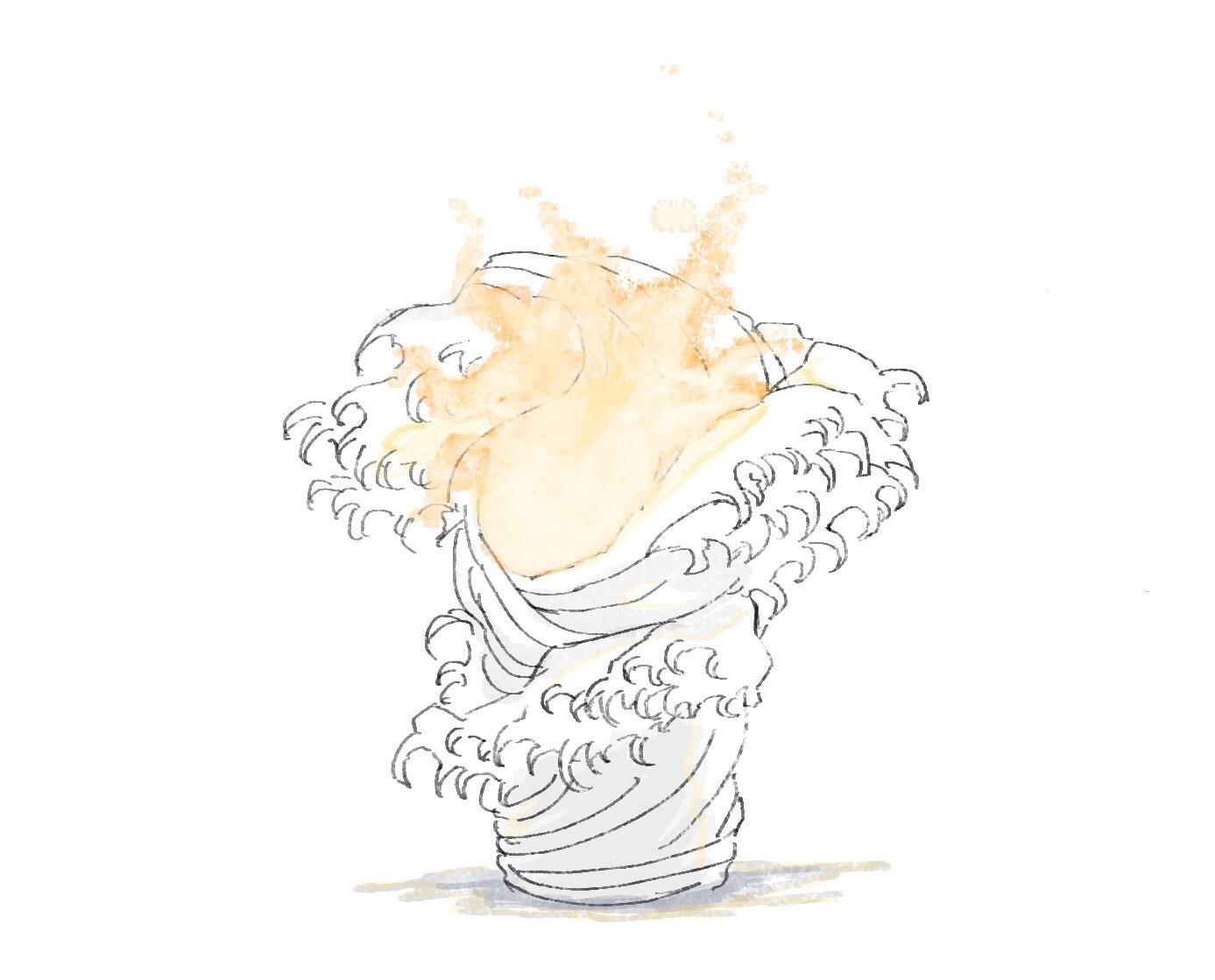 文化学園大学でのメディア史の授業第7回「オリンピックとメディア」で提出された聖火台優秀案_f0006713_23501973.jpg