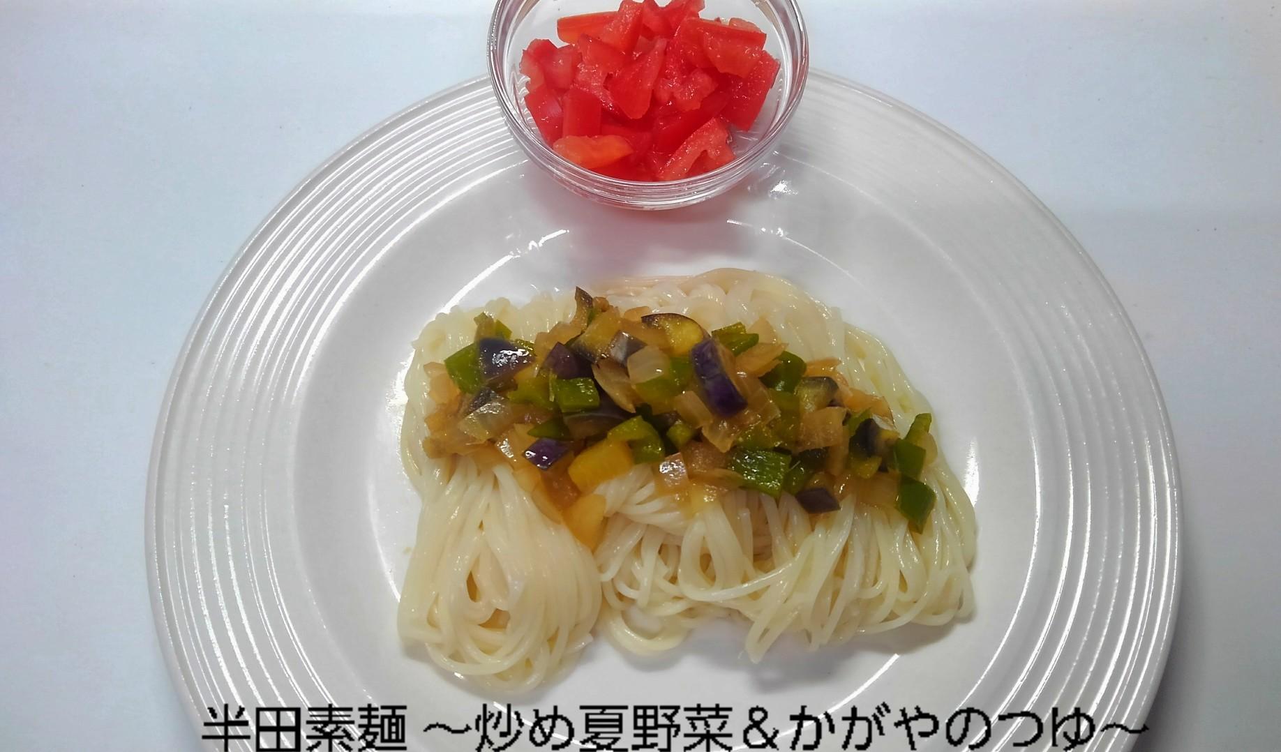 半田素麺、文士の真似スタイル_b0339522_05073872.jpg