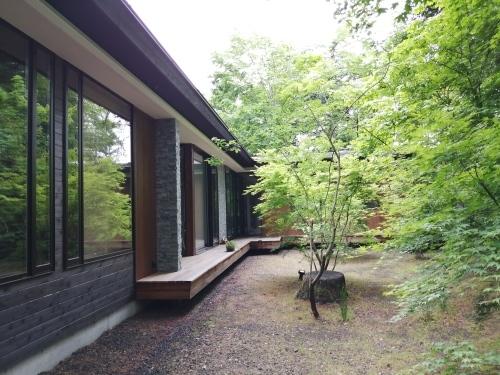 ラ・メゾン軽井沢(lamaisonkaruizawa)さんのお庭(^^)_d0331029_21503109.jpg