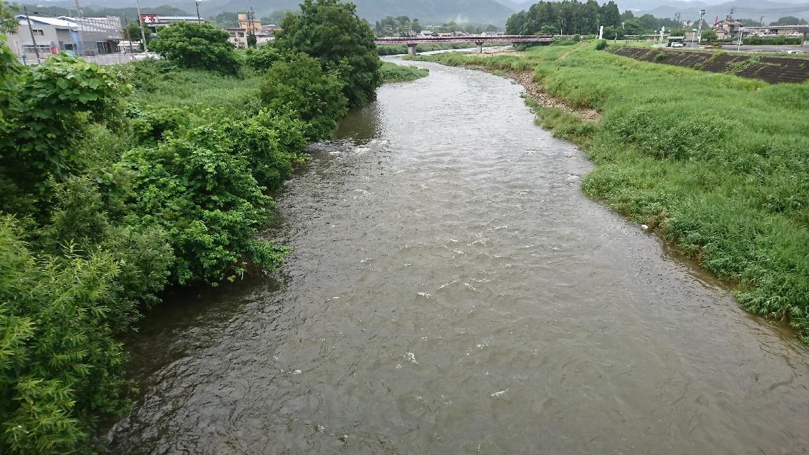 7月1日河川情報。午前7..._c0266737_07012219.jpg