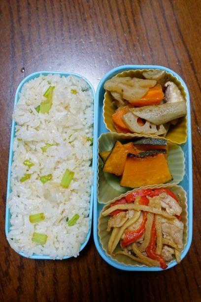 ある日のお弁当(青椒肉絲)_b0287241_06235780.jpg