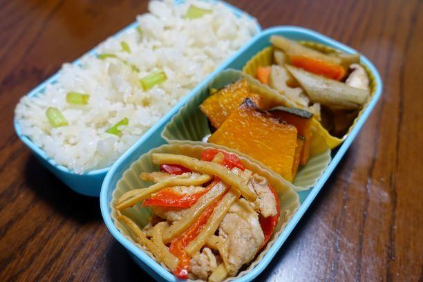 ある日のお弁当(青椒肉絲)_b0287241_06240775.jpg
