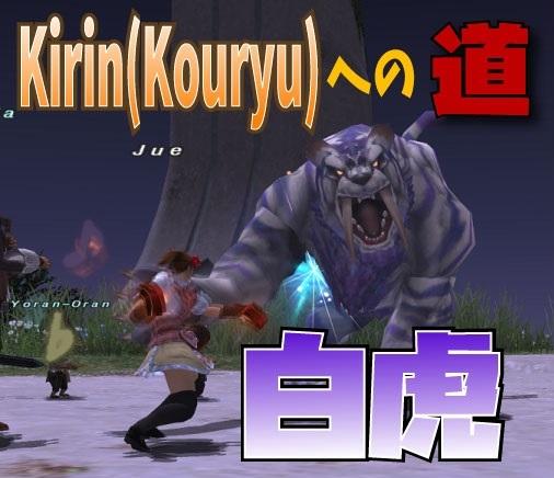 Kirin(Kouryu)への道 ~白虎~_e0401547_19584776.jpg