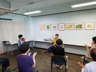 懐メロ体操&水彩画教室_c0113948_15375106.jpg