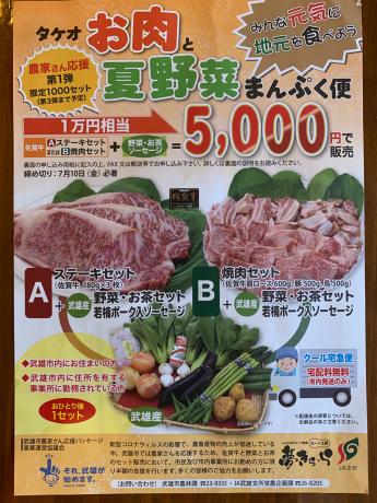 タケオお肉と夏野菜まんぷく便_a0077071_15023566.jpg