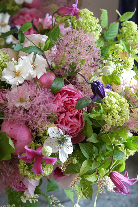 エッチドサーモンを使った初夏の花たば_f0127281_19070813.jpg