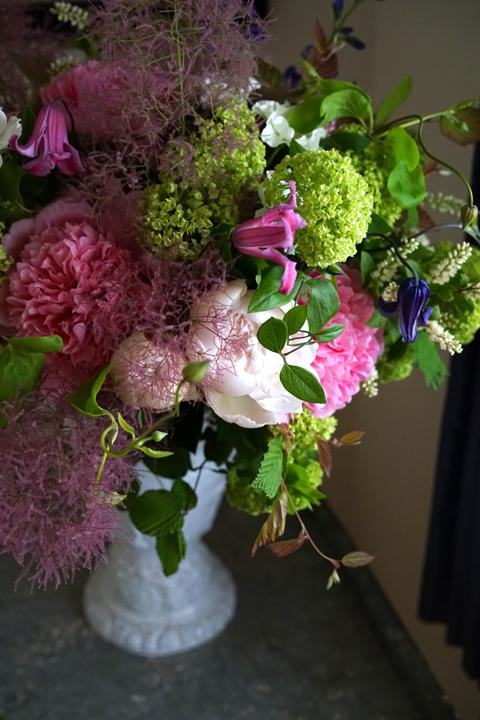 エッチドサーモンを使った初夏の花たば_f0127281_19074035.jpg