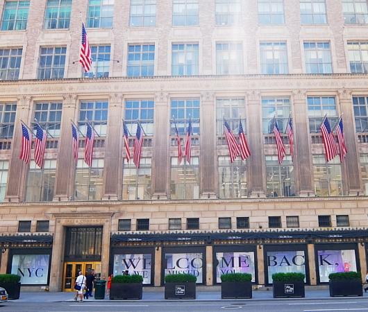 サックス・フィフス・アベニューNY五番街店のコロナ対策 #SAKS♥NYC_b0007805_01275861.jpg