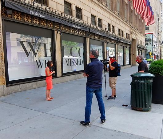 サックス・フィフス・アベニューNY五番街店のコロナ対策 #SAKS♥NYC_b0007805_01281300.jpg