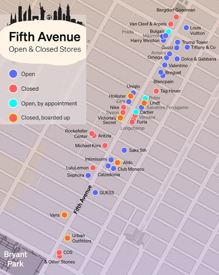 ニューヨーク五番街のコロナ対策_b0007805_01531795.jpg