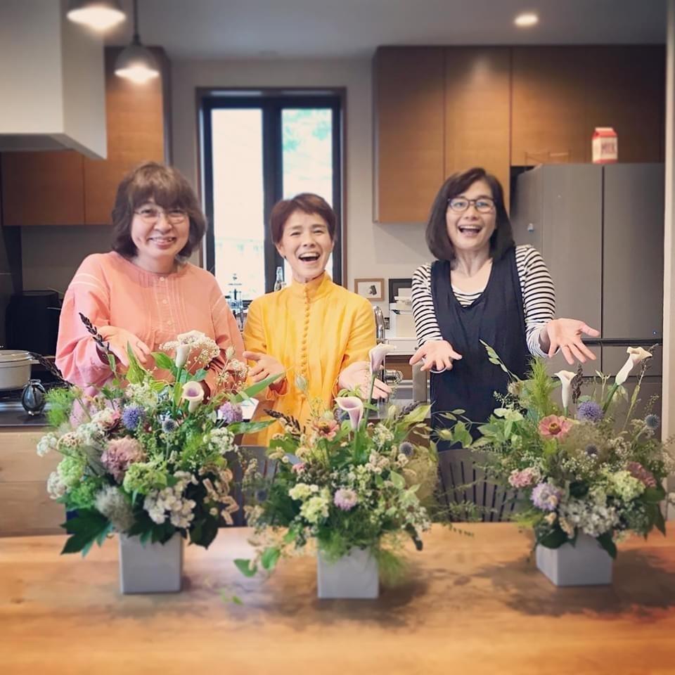 6月 Flower  Lesson のようす littlewomen _d0165505_18332422.jpg