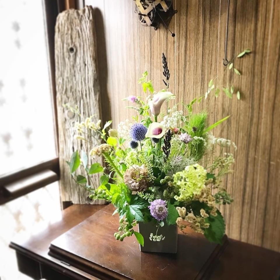 6月 Flower  Lesson のようす6_d0165505_18362925.jpg