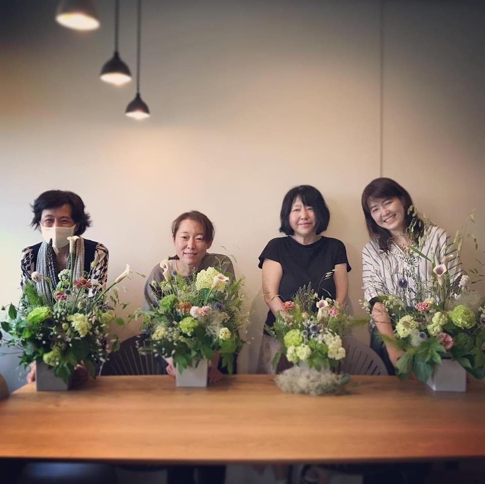 6月 Flower  Lesson のようす littlewomen_d0165505_18415536.jpg