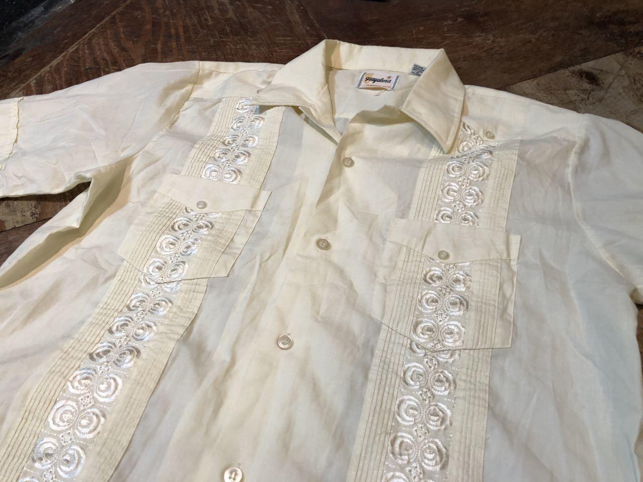 7月2日(木)入荷!70s GUAYABERA  キューバシャツ! _c0144020_14004272.jpg
