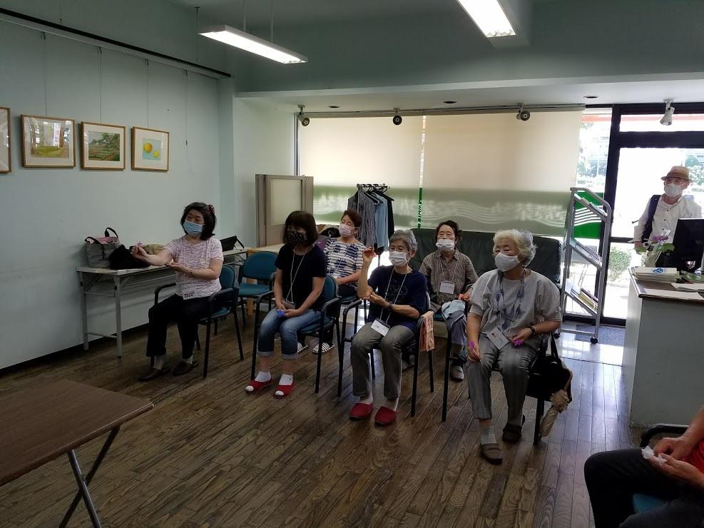 認知症予防教室(ダーツで脳トレーニング)_c0113948_15095841.jpg