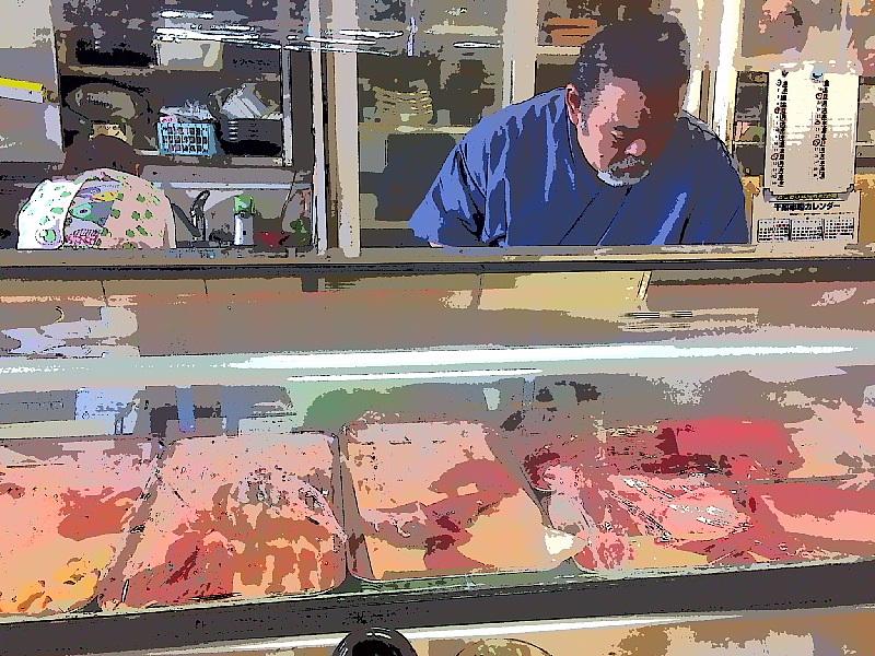 【刺身ネタで作る天下無敵のミックスフライ定食】和食処 さくら @千葉市地方卸売市場_b0008655_22205448.jpg