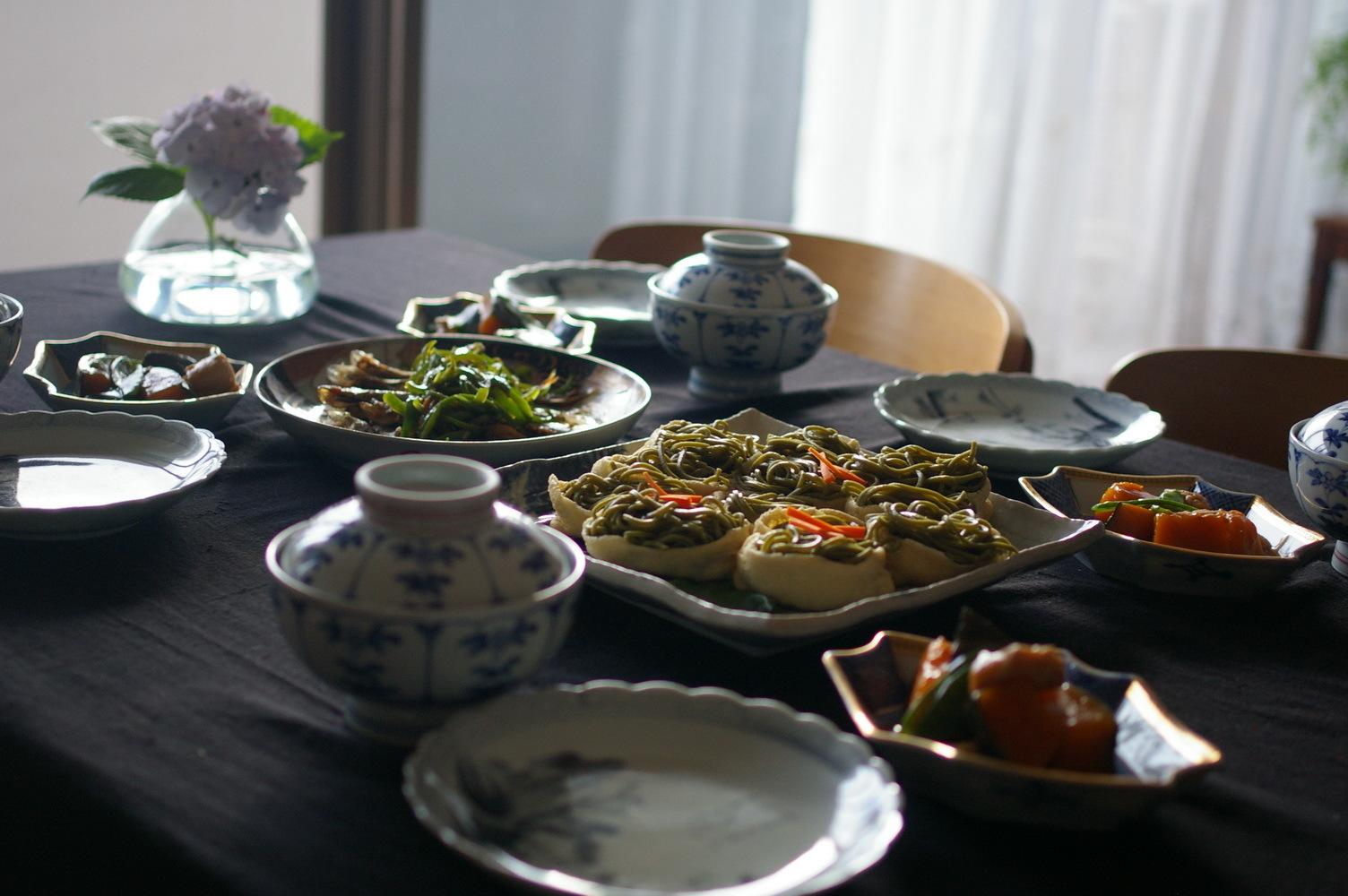 抹茶蕎麦稲荷寿司_d0327373_08415348.jpg