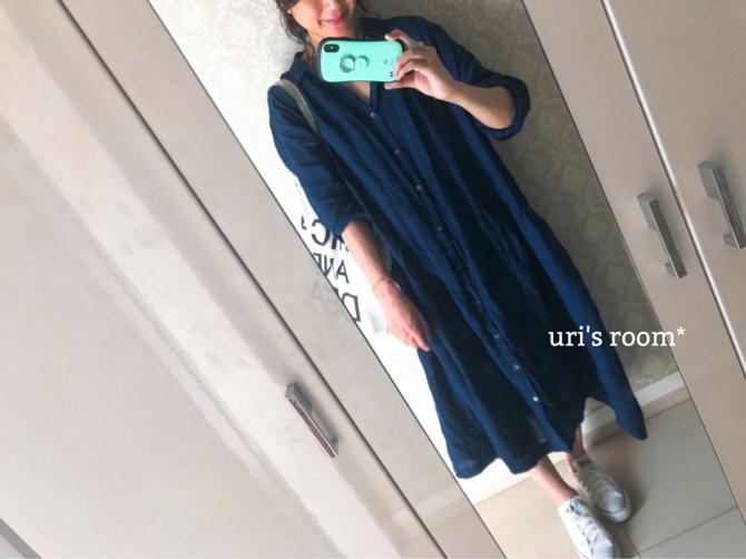 お洒落ブロガー絶賛のワンピを私も着てみた!!_a0341288_17345455.jpg