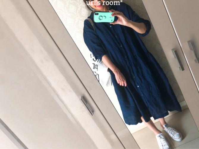 お洒落ブロガー絶賛のワンピを私も着てみた!!_a0341288_20425319.jpg