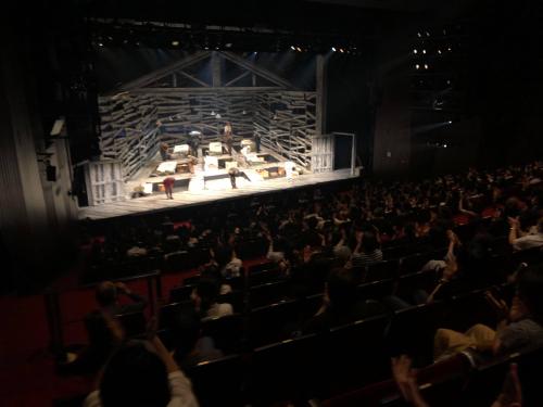 PARCO劇場公演『大地』の幕開け_f0061797_22302734.jpg