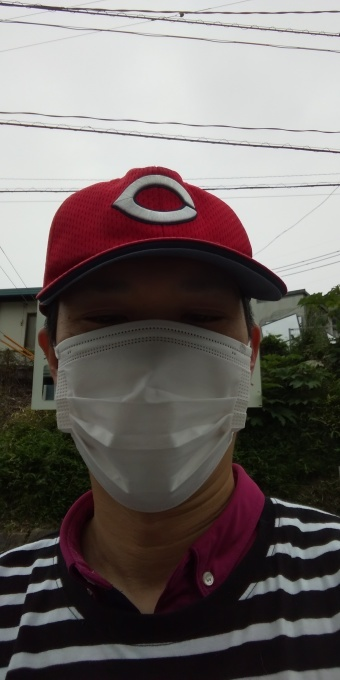 本日もアベノマスクよりコンビニのマスクで介護現場出勤です_e0094315_07521040.jpg