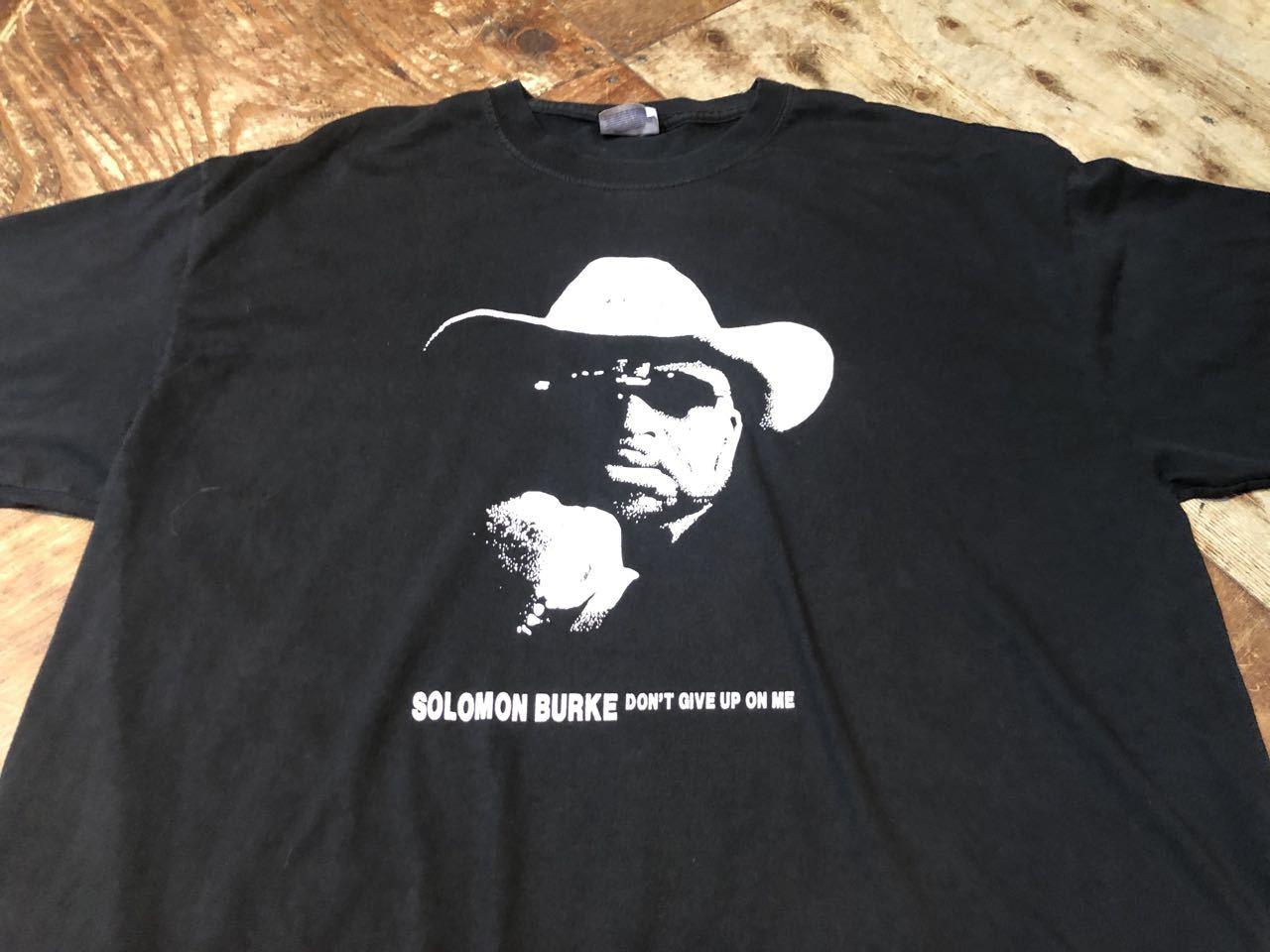 7月4日(土)入荷! ソロモンバーク SOLOMON BURKE Tシャツ!_c0144020_13504764.jpg