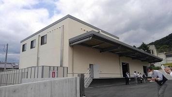 新しい給食センターと、防災倉庫の内覧会がありました。_c0133422_19582270.jpg