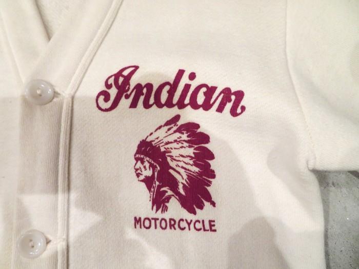40\'s Champion Indian Motorcycle Sweat Cardigan + 新商品投入中 !!_e0187362_12085576.jpg