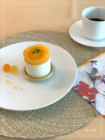 オレンジのムース_b0270372_21075930.jpg