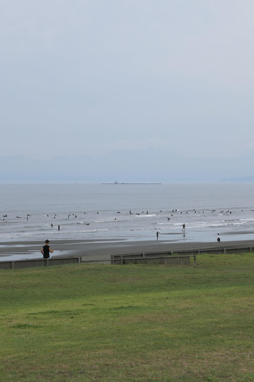 朝の鵠沼海岸♪_b0275998_13493709.jpg