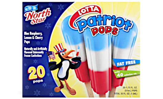 アメリカ独立記念日の定番のアイス・キャンディーが、コレ_b0007805_19533745.jpg