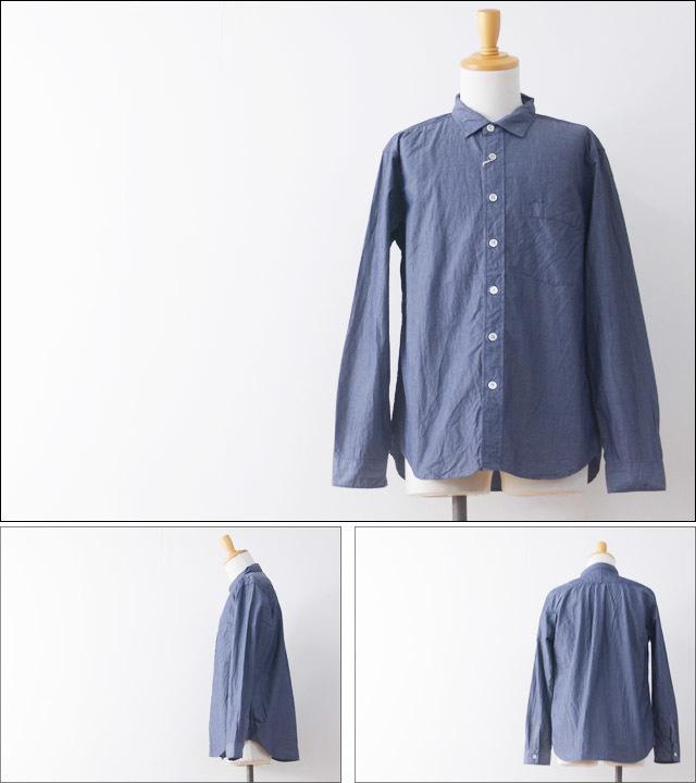 RINEN[リネン] 80/2ダウンプルーフレギュラーカラーシャツ[38000] ホワイト・ストライプ・ギンガムチェック・長袖・MEN\'S_f0051306_16181459.jpg