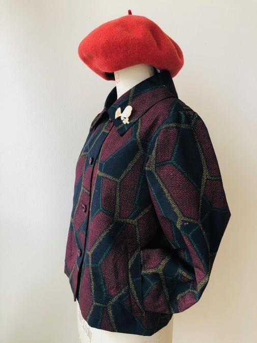 着物着物リメイク/着物からショートジャケット_d0127925_13562120.jpg