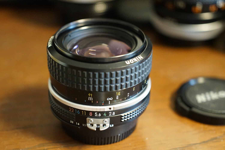 出て来た Ai Nikkor 28mm F2.8 で_b0069128_13170384.jpg