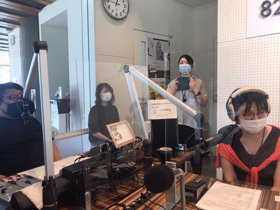 【 コミュニティFM82.5fm TOTTRI RADIO BIRDに出演 】_f0112434_14153502.jpg