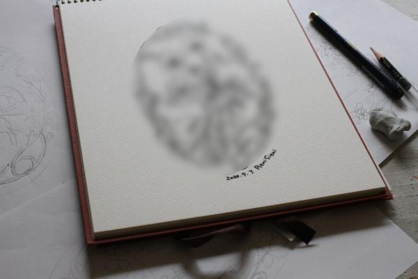 著書向け作品のデザイン画描きをしています_e0333647_16074962.jpg