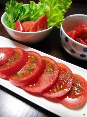 樹上完熟の朝採りトマト 最旬食材!大好評販売中!朝採り収穫の様子を現地取材!_a0254656_19013766.jpg