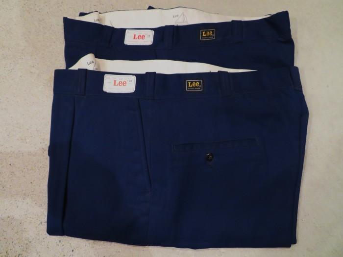 60\'s DEAD STOCK Lee WORK TROUSERS NOS①_e0187362_16184006.jpg