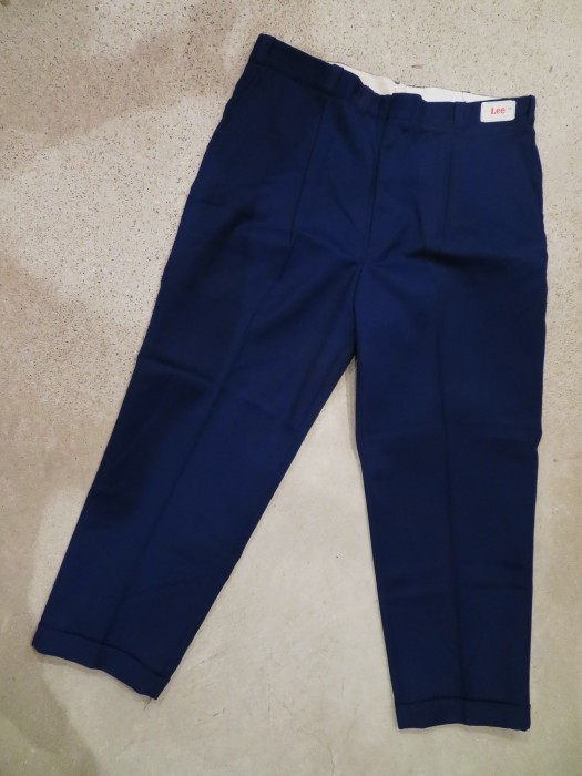 60\'s DEAD STOCK Lee WORK TROUSERS NOS①_e0187362_16232605.jpg