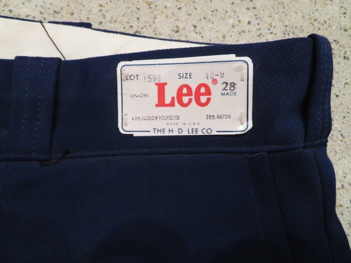 60\'s DEAD STOCK Lee WORK TROUSERS NOS①_e0187362_16263741.jpg