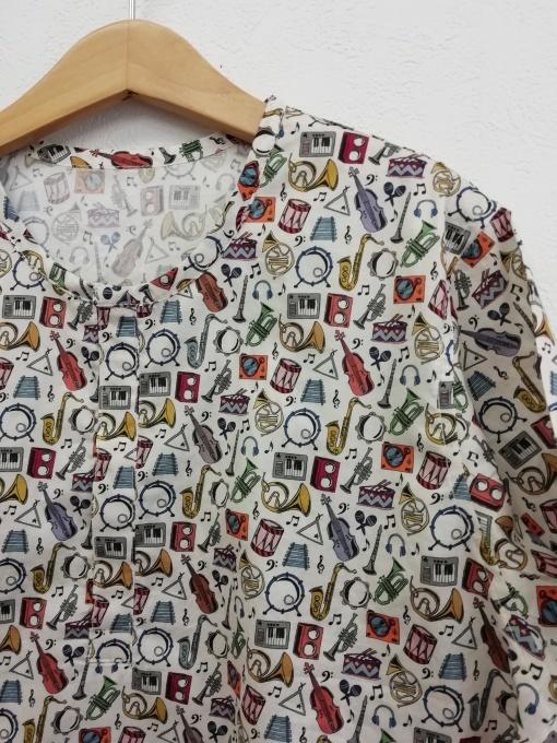 リバティプリント キッズシャツ 140㎝_f0109798_07441502.jpg