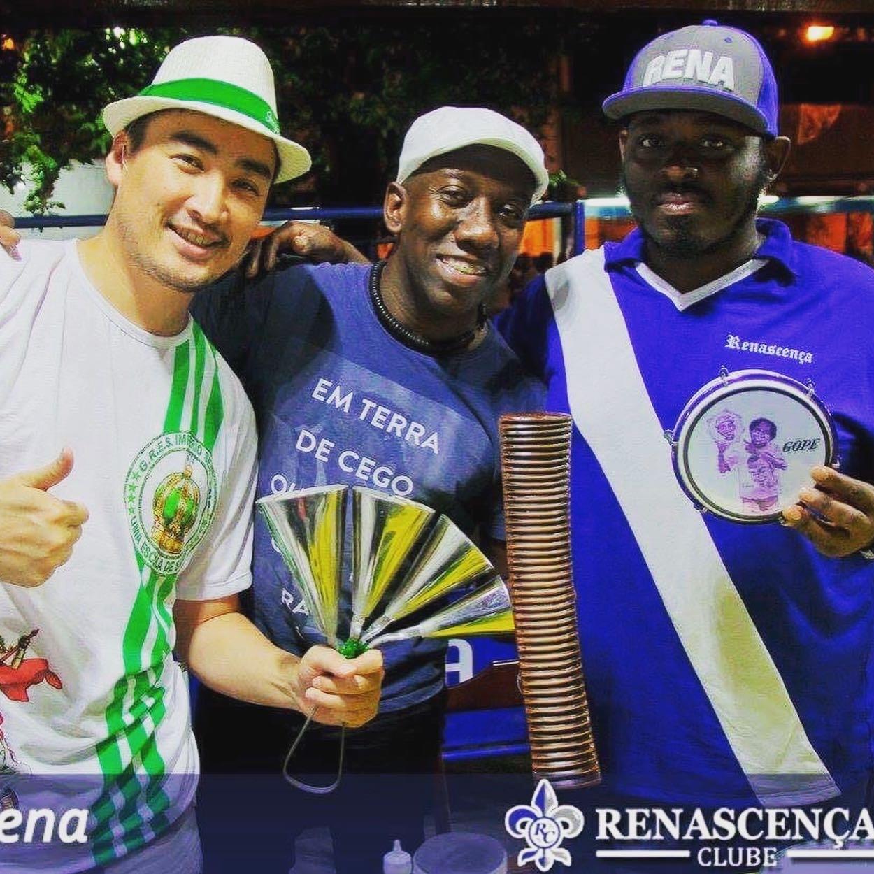 【本場RIOの本物のSambistaの作品に参加♬】 #MingoSilva ミンゴ・シウヴァ Samba do Trabalhadorメンバー/ブラジル音楽大賞受賞者_b0032617_02280529.jpeg