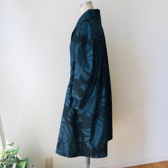 着物着物リメイク/大島のお着物からふわっとコート_d0127925_10383858.jpg