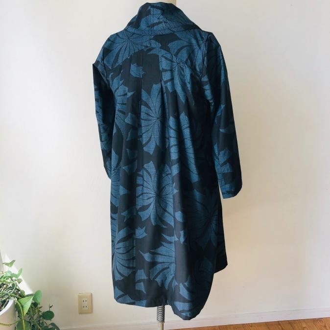 着物着物リメイク/大島のお着物からふわっとコート_d0127925_10384286.jpg