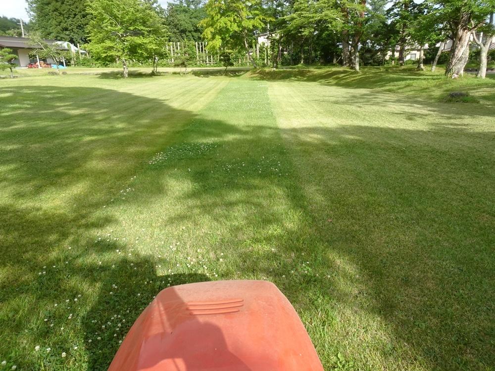 芝刈り作業_c0111229_19080960.jpg