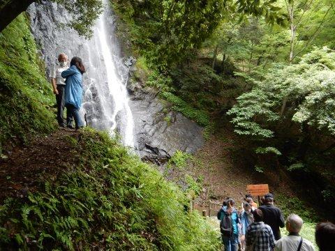 【 猿尾の滝、上の道が7年ぶりに開通 】_f0112434_17222007.jpg