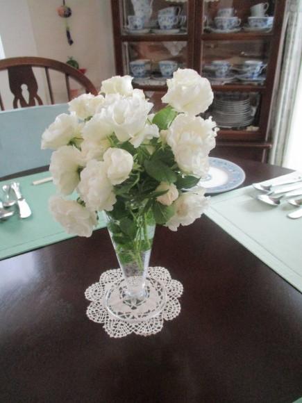 薔薇を飾って我が家でランチ~_a0279743_07283236.jpg