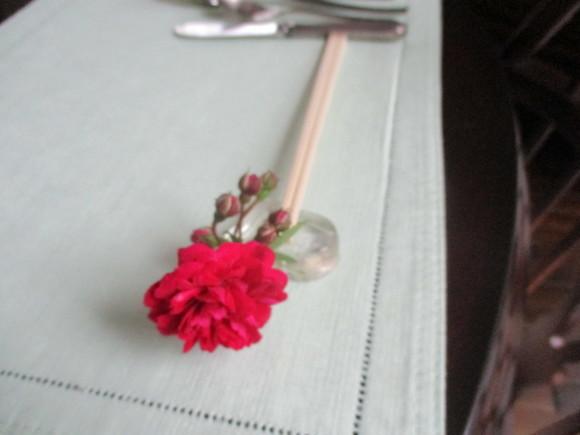 薔薇を飾って我が家でランチ~_a0279743_07285772.jpg