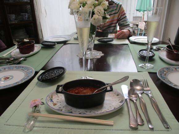 薔薇を飾って我が家でランチ~_a0279743_07363341.jpg