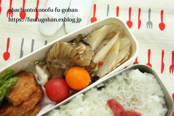 今日の御出勤ごぱんは、蒸し鶏とキノコのホットサンド&蒸し鶏の味噌炒め弁当_c0326245_10080461.jpg